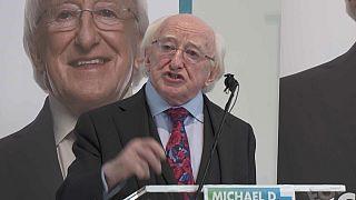 Michael D. Higgins es favorito para ganar las presidenciales en Irlanda