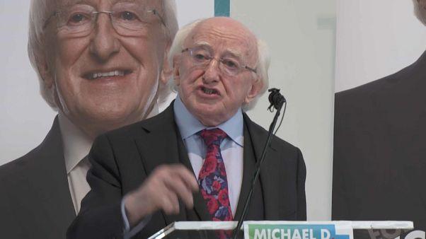 Az államfő a legesélyesebb az ír elnökválasztáson