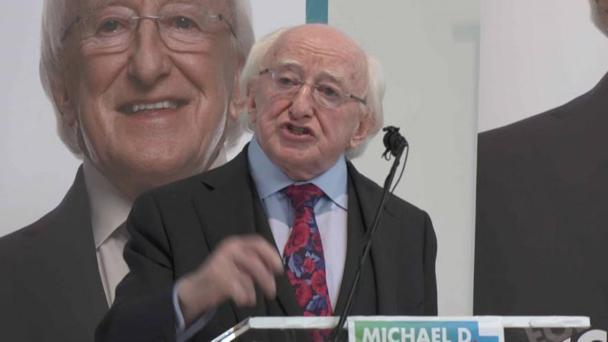 Irlandeses escolhem presidente