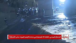 Al menos 18 muertos, en su mayoría niños, en inundaciones en Jordania