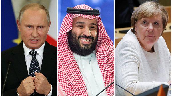 Merkel ve Putin'den Suudi Kralı Selman'a Kaşıkçı uyarısı