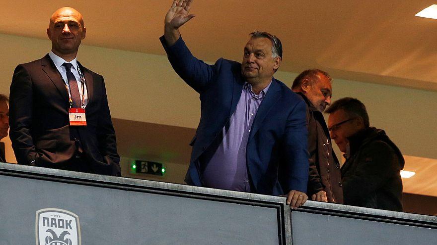 Στην Τούμπα ο πρωθυπουργός της Ουγγαρίας Βίκτορ Όρμπαν