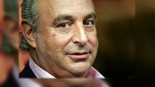 Portrait des britischen Unternehmers Philip Green