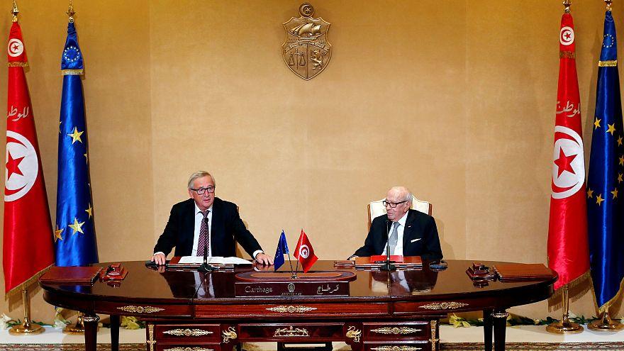 Presidente da Comissão Europeia de visita oficial à Tunísia