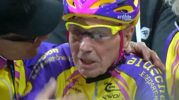 مارشاند تجاوز عامه الـ 106 وعينه على رقم قياسي جديد في ركوب الدراجات