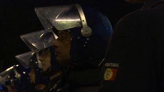 Rendőröket fékeztek meg rendőrök Portugáliában