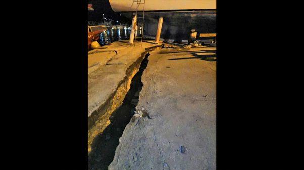 Erős földrengés rázta meg Zákinthosz szigetét