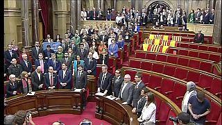 Cataluña en el impás, al cumplirse un año de la declaración de independencia
