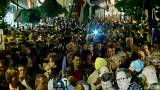 Les jeunes hongrois défendent l'université de George Soros