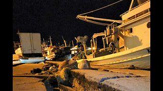 Starkes Erdbeben erschüttert Zakynthos