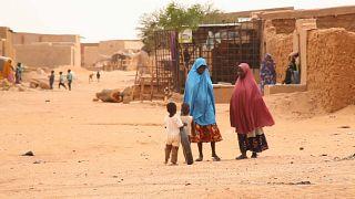 Two women in Agadez, Niger
