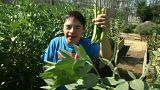 Un huerto abierto a los jóvenes con síndrome de Down