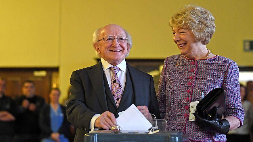 Michael Higgins, presidente de Irlanda