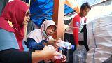 Endonezya'da plastik atık getirene ücretsiz otobüs bileti