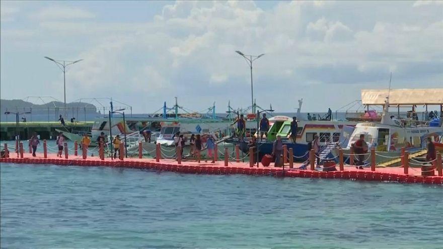 Riaperta l'isola turistica di Boracay