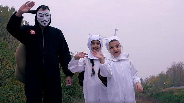 Csiga és gyermekei ismét lefutották a vonatot