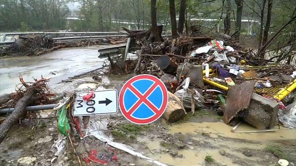 Mindestens sechs Tote bei Überschwemmungen am Kaukasus