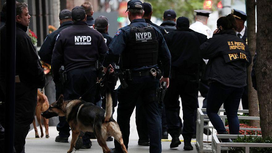 Полиция Нью-Йорка проверяет сообщение об очередной опасной посылке