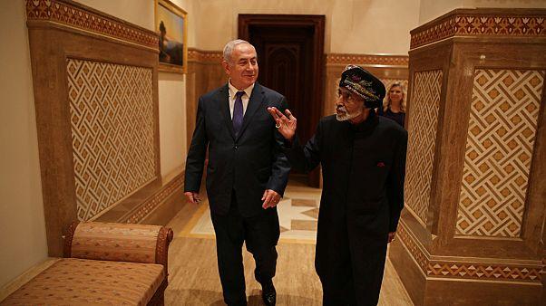 İsrail Başbakanı Netanyahu'dan diplomatik ilişki bulunmayan Umman'a ziyaret