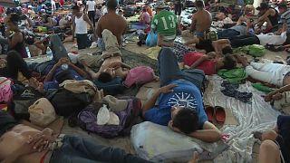La caravane de migrants