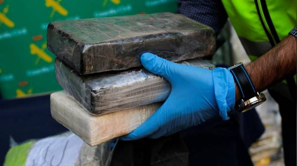 Watch: Spanish police seize six tons of cocaine hidden in banana cargo