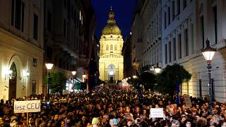Austria's Kurz meets with billionaire George Soros to discuss CEU move to Vienna