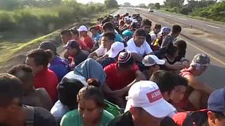 Central American migrants reject Mexico's offer of asylum