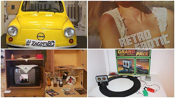 Bu eşyaları tanıdınız mı? Balkanların ortasında, Zagreb'de 80'ler Müzesi'nden