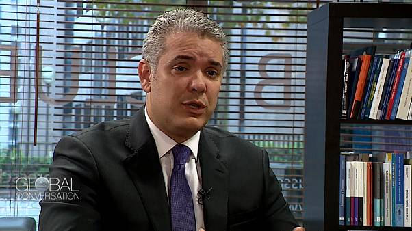 Colombian president Ivan Duque on Global Conversation