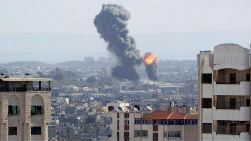 حمله هوایی اسرائیل به نوار غزه