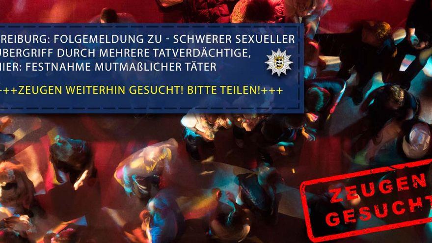 Schock in Freiburg: 18-Jährige in Disko betäubt und offenbar von acht Männern vergewaltigt