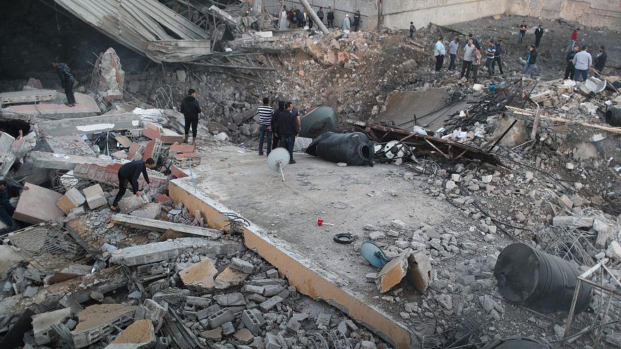 الجيش الإسرائيلي يقصف قطاع غزة والجهاد الإسلامي تعلن التوصل لوقف إطلاق النار مع إسرائيل