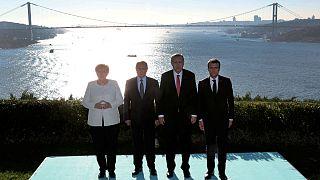 دیدار رهبران ترکیه، روسیه، فرانسه و آلمان برای بررسی بحران سوریه