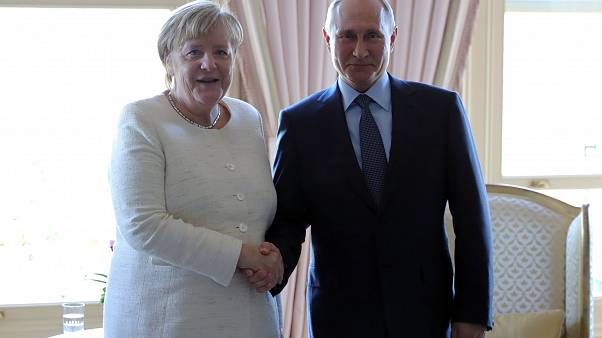 Merkel-Putin: incontro a Berlino su Nord Stream 2
