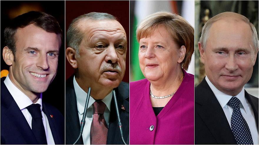 وصول بوتين ميركل وماكرون إلى اسطنبول لحضور القمة الرباعية بشأن سوريا