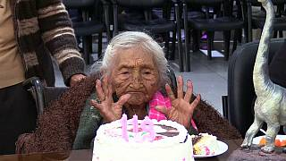Bolivian woman believed to be world's oldest person celebrates her 118th birthday