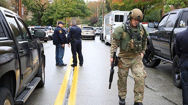 تیراندازی در یک کنیسه در پیتسبرگ آمریکا چندین کشته برجای گذاشت