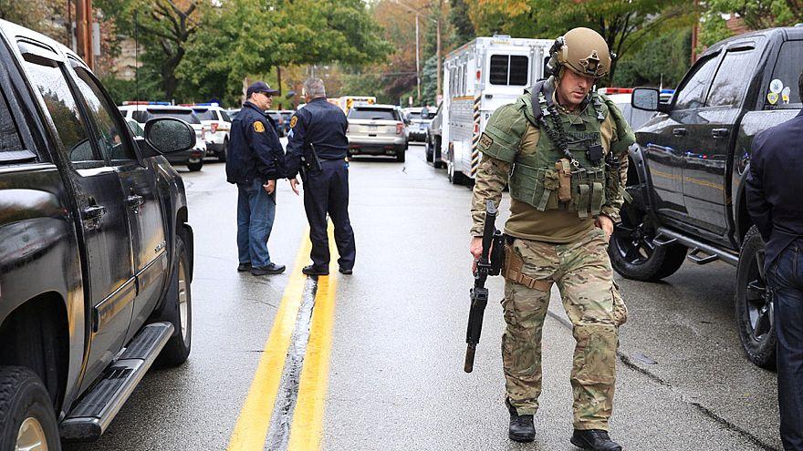Schüsse in US-Synagoge: 11 Tote und 6 Verletzte