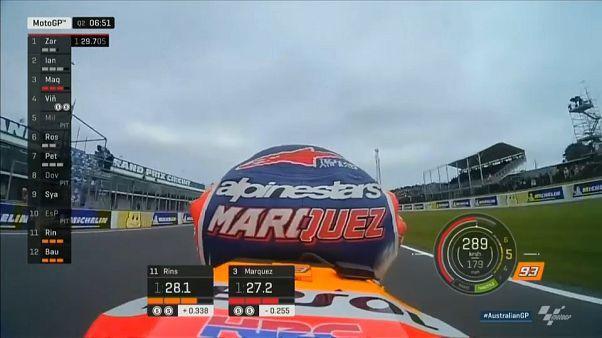 MotoGP: lotta Dovizioso-Rossi per il secondo posto