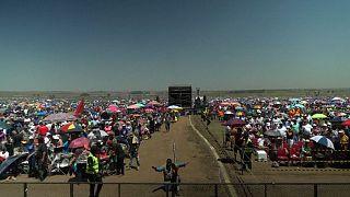 Messa multitudinaria in Sudafrica