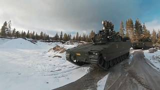 Norwegian troops take part in NATO's biggest military maneuver since the Cold War