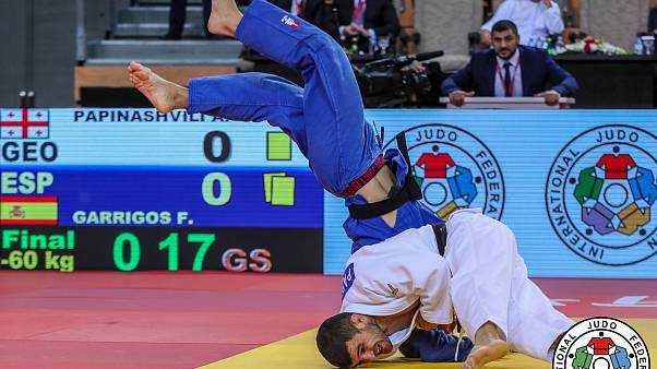Thrilling competition on Day 1 of 2018 Abu Dhabi Grand Prix on the eve of World Judo Day