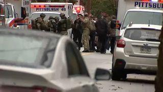 Entsetzen über 11 Tote bei Sturmgewehr-Angriff in Synagoge in Pittsburgh