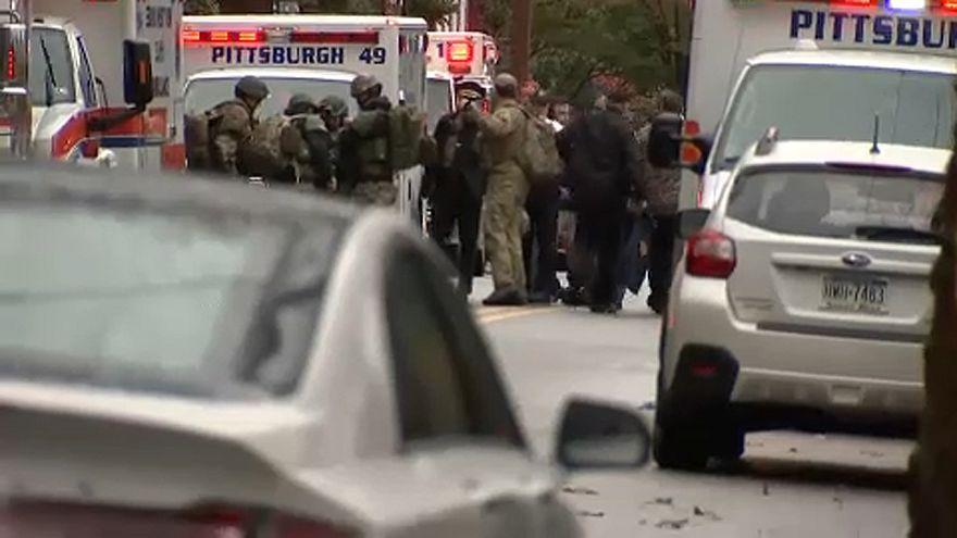 Ataque a sinagoga nos EUA deixa 11 mortos