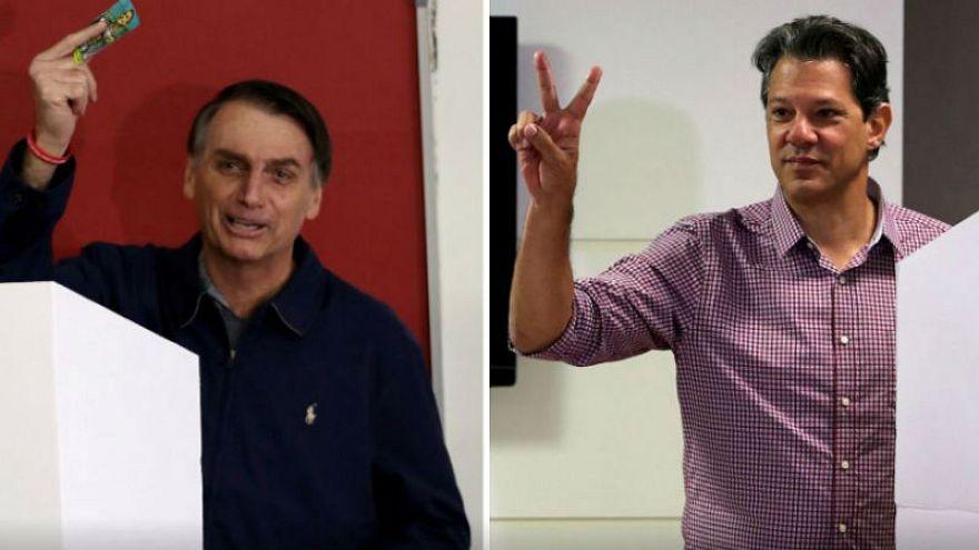 البرازيليون يختارون رئيسهم واليميني بولسونارو الأوفر حظا