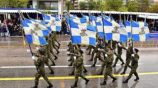 Φωτογραφία αρχείου από την παρέλαση στη Θεσσαλονίκη στις 28/10/2017