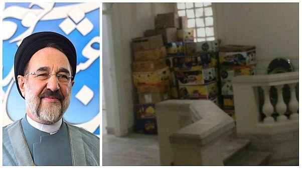 دفتر محمد خاتمی، رئیس جمهور اسبق ایران تخلیه شد