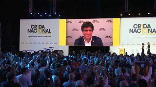 """Catalogna: Puigdemont lancia il nuovo partito """"Crida"""""""