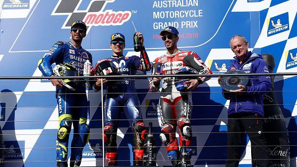 MotoGP: Viñales interrompe il digiuno Yamaha