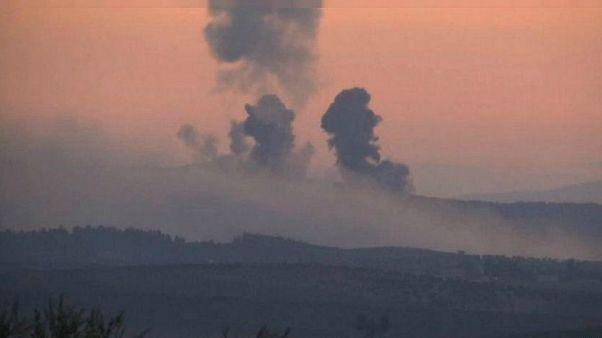 القوات التركية قصفت مواقع لوحدات حماية الشعب الكردية شرقي الفرات